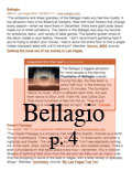 Bellagio Tear Sheet